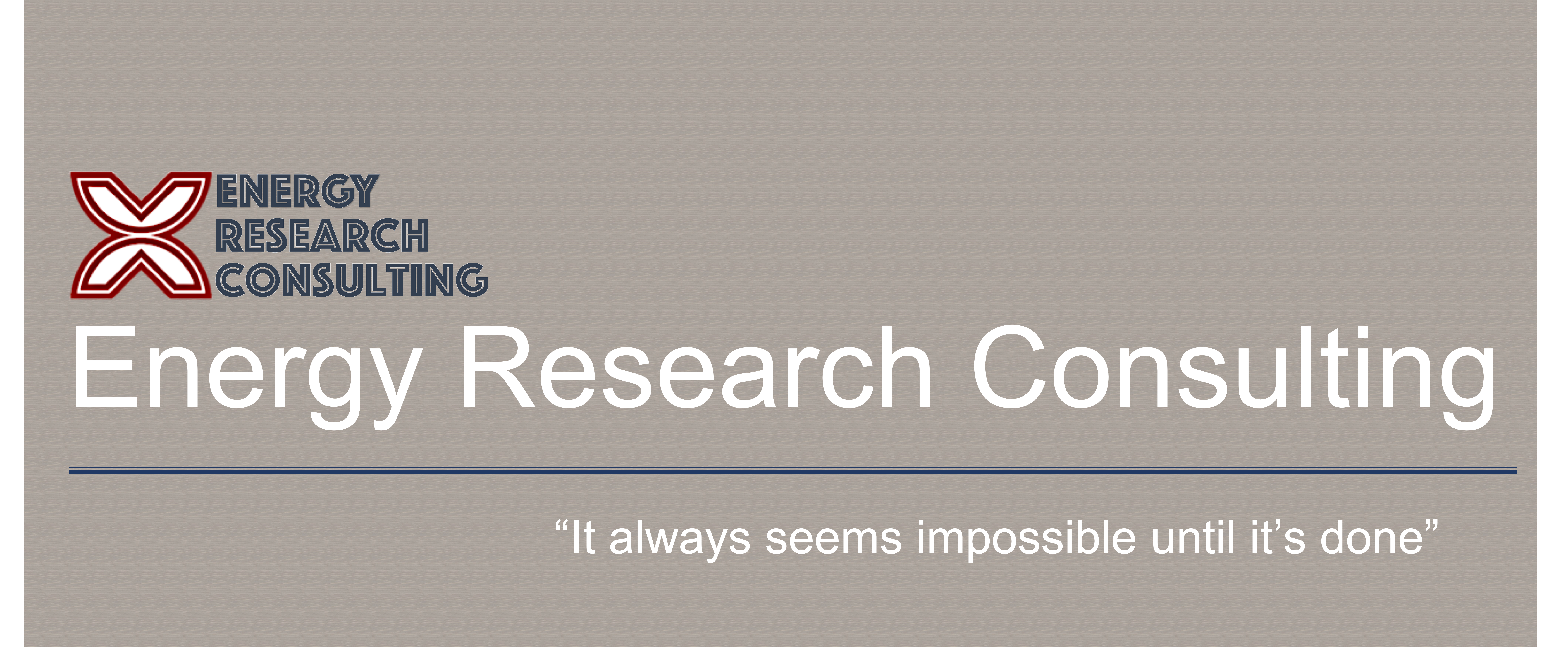 Energy Research Consulting